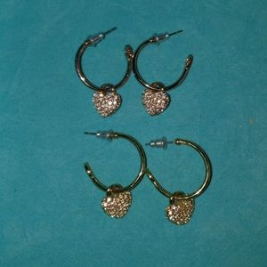 Origami Owl Open Hoop Earrings